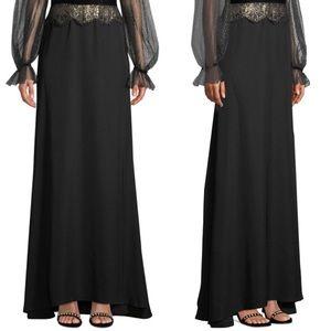 Tadashi formal full length skirt